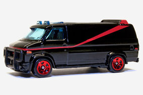 Hot Wheels A-Team Van - 00738ef