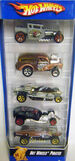 07 Hot Wheels Pirates 5-Pack