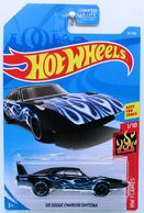 11 - '69 Dodge Charger Daytona 2019 HW Flames - Black 1-2