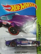 2014 243-250 HW Workshop - HW Performance - '70 Chevy Chevelle 'Summit' Purple