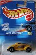 Neet Streeter yellow carded