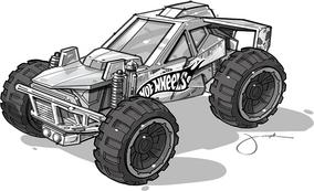 Hw corclscrew buggy