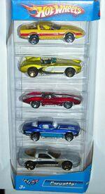 HW 5pack Corvette