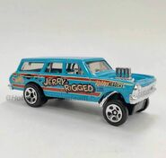 2019 Hot Wheels '64 Chevy Nova Wagon Gasser