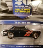 20th Nationals Convention Datsun 510