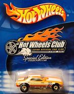 HW Club Japan Official Fan Club Special Edition - Plymouth Barracuda Funny Car -Mooneyes- Orange