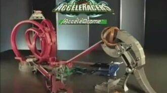 Hot Wheels AcceleRacers 2005 AcceleDrome commercial