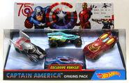 Frozen Solid Captain America 4-pack (DVF08)