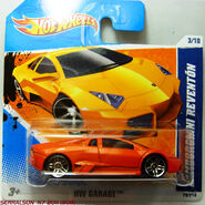 REVENTON ORANGE VERSION IN A NEW CARD 2011