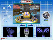 Splittin' Image II was Playable in Hot Wheels Mechanix PC 1999 Terrorific Series