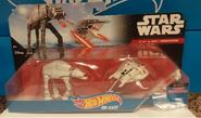 AT-AT vs Rebel Snowspeeder (pack)
