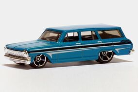 Hot Wheels '64 Chevy Nova Station Wagon - 01293ef