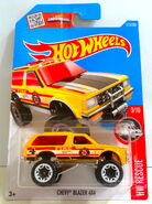 Chevy Blazer 4X4 - Rescue 3 - 16 Cx