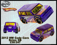 2012 HW Code Cars Scion XB 230-247