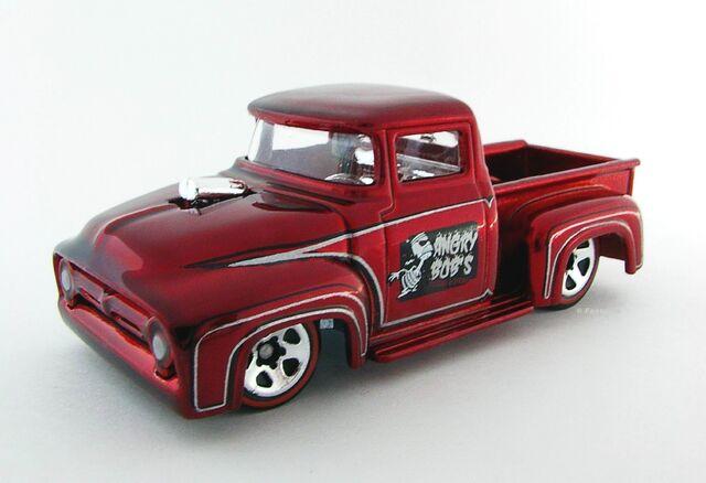 Image Custom 56 Ford Truck Red Side View Jpg Hot Wheels Wiki