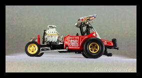 Fuel Altered Vintage Drag WINGED EXPRESS 2001