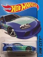 2014 022-250 HW City - Night Burnerz - Toyota Supra 'Falken K&N TEIN' Blue