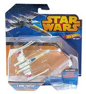 X-wing fighter red5 blue