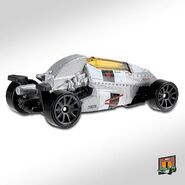 2020 Hot Wheels 2JetZ loose back
