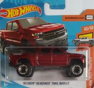 '19 Chevy Silverado Trail Boss LT - FJV97 Card
