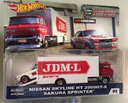 Skyline HT 2000GT-X & Sakura Sprinter. JDM-L