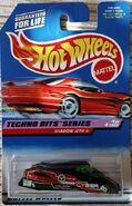 Hot Wheels Shadow Jet II Techno Bits Series