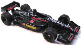 Indy Car Series KMart black Michael Andretti 1998 rubber tires