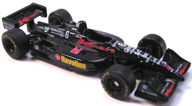 File:Indy Car Series KMart black Michael Andretti 1998 rubber tires.JPG