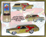 2011 HW Real Riders DC Comics Originals 70 Chevelle SS Wagon The Flash