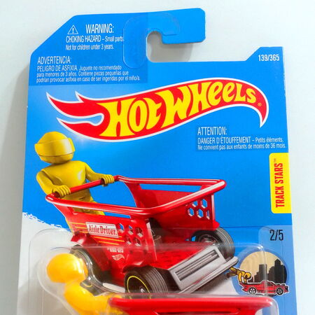 HOT WHEELS 2017 TRACK STARS AISLE DRIVER HW RIDE-ONS 2//5 DTX21