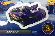 Mystery Model series 3 - 07 of 12 Twinduction - Sticker
