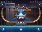 Shark bay battle