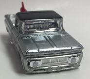 Custom '62 Chevy Pickup. Front