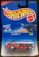 Hot Wheels 1996 Zombot carded