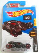 Tumbler, TDK Batmobile (Red) Batman 3 - 16 Cx