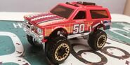 HW CHEVY BLAZER 4X4 Hw sports ORANGE