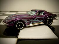 Hot Wheels (Super Treasure Hunts) '69 Corvette 2014
