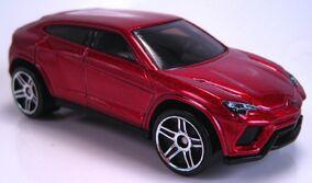 Lamborghini Urus red metallic 2015