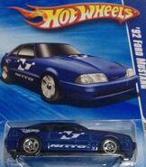 2010 HW Performance 07-10 '92 Ford Mustang 'Nitto' Blue