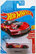 2019 Hot Wheels Corvette C7 R Red Edition