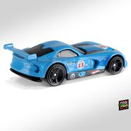 2019 Hot Wheels SRT Viper GTS-R back