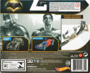 Batman v Superman 2-Pack package back klein