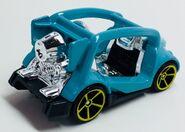 Kick Cart Recolor. Blue.Rear