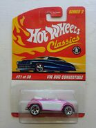 Beetle convertible pink classic series