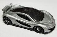 McLaren P1 silver