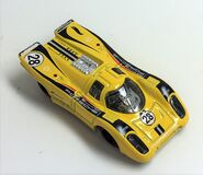Porsche 917. Yellow