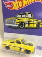 83 Silverado.Yellow