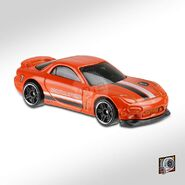 2020 Hot Wheels '95 Mazda RX-7 right