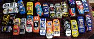 Hot Wheels Nascar lot