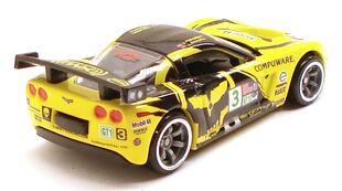CorvetteC6R SM yellowrear